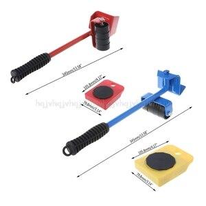Image 3 - 5 Stücke/8 stücke Möbel Transport Roller Set Entfernung Hebe Umzug Werkzeug Schwere Bewegen Haus Möbel zubehör D12 Dropship