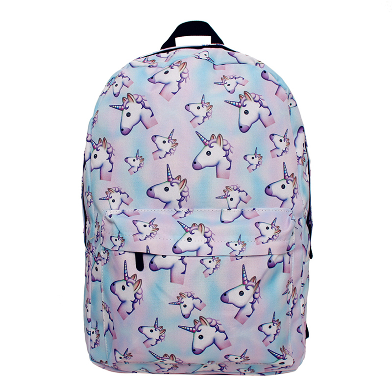 Camping & Hiking Honest Women Sports Bag Printing Unicorn Bag Female High Quality Hiking Cycling Ski Outdoor Bags For Teenage Girl Backpack Exquisite Craftsmanship;