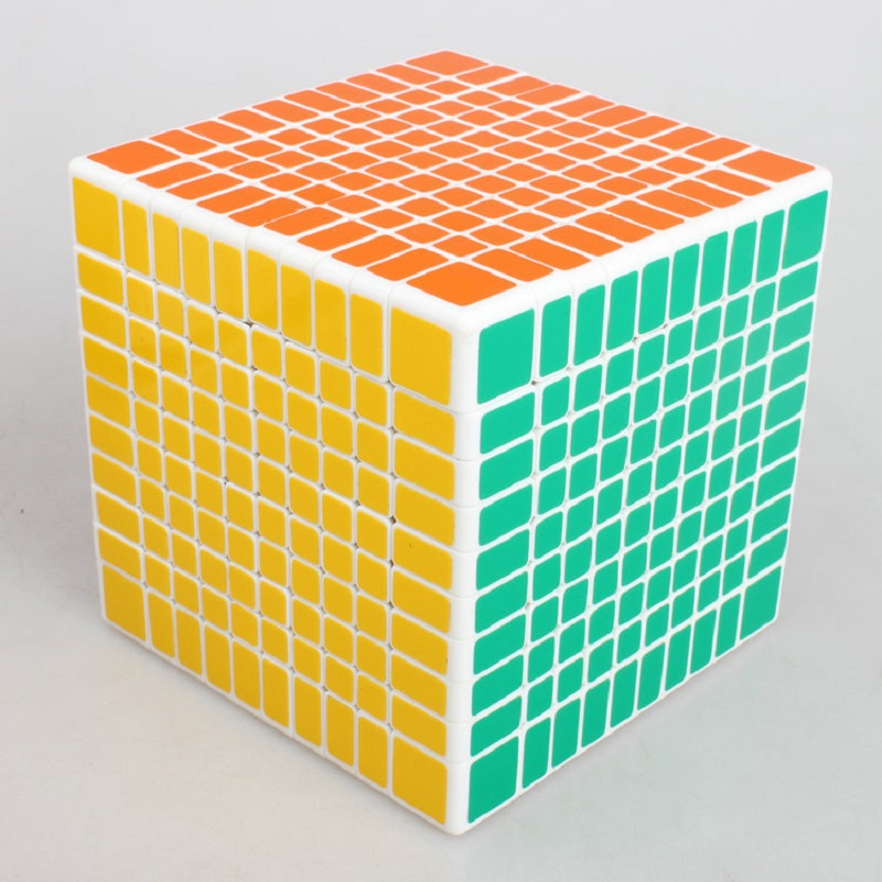 ShengShou 10x10 Puzzle Cube Professional PVC&Matte Stickers Cubo Magico Puzzle Speed Classic Toys Learning & Education Toy professional rubik cube speed magic cube 3x3x3 educational learning puzzle cube toy magic cubo magico