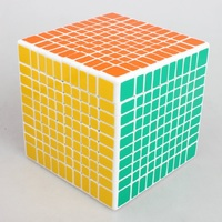 ShengShou 10x10 Puzzle Cube Professional PVC&Matte Stickers Cubo Magico Puzzle Speed Classic Toys Learning & Education Toy