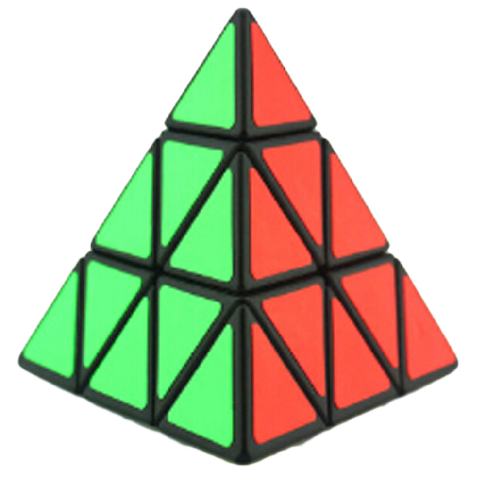 Original Boys Pyraminx Magic Speed Cube Pyramid Cubo Magic Professional Puzzle Education Toys For Children