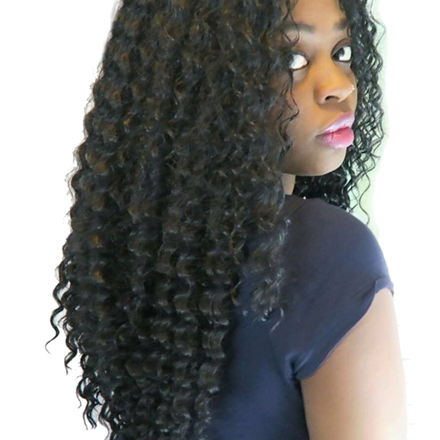 Xtrend 18inch 75g Synthetic Deep Curly Braiding Hair Extensions