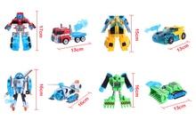 Gratis Pengiriman Penyelamatan Bots Helicopter Robot Transformasi Deformasi Robot Aksi Angka mainan untuk anak hadiah