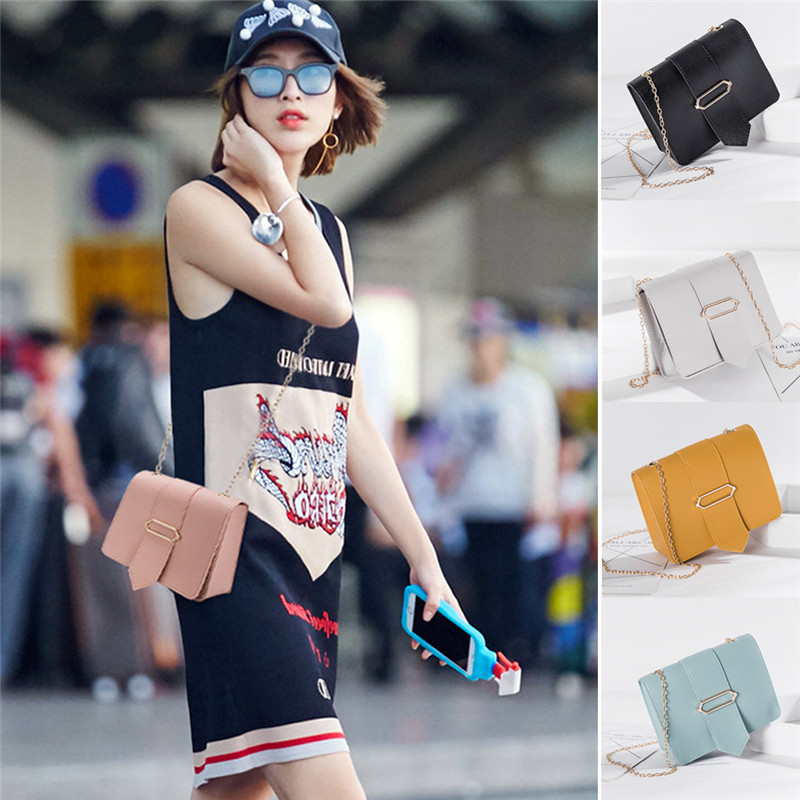 NoEnName NEW Women Leather Small Handbag Satchel Messenger Crossbody Bags Shoulder Bag Tote Travel Purse