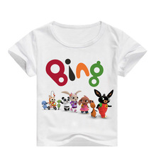 Kids Baby Bing Bunny T Shirt Clothes 2-16Y