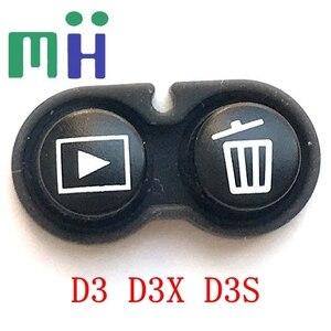 Image 5 - NEW For Nikon D3 D3S D3X Back Cover Button Cover MENU Button Delete Playback Button Zoom +/  Camera Repair Spare Part Unit