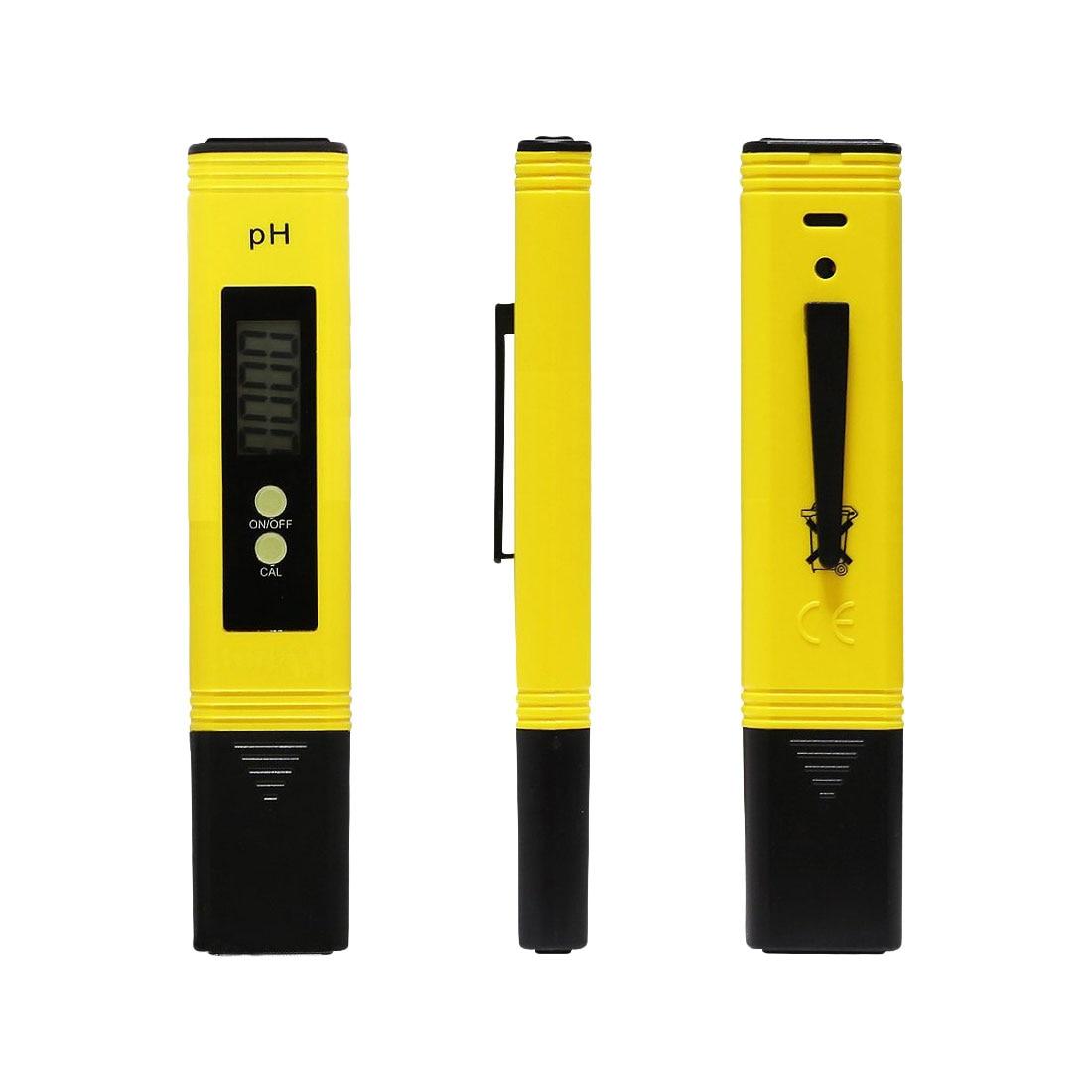 Nuevo portátil LCD Digital PH Metro pluma de la precisión del probador 0,1 acuario piscina agua vino orina calibración automática