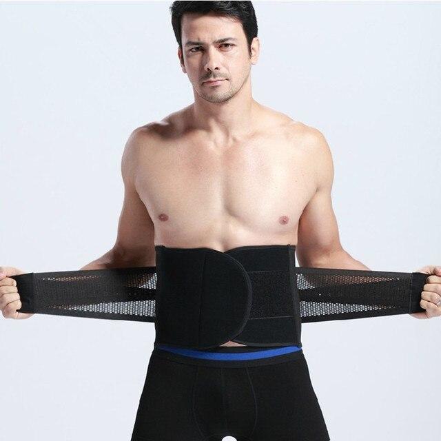 Cinchers cintura barriga shaper do corpo Dos Homens roupa interior do homem cintura corset shapers cintura cincher shaper homens cinturão de Slim Belt Suporta