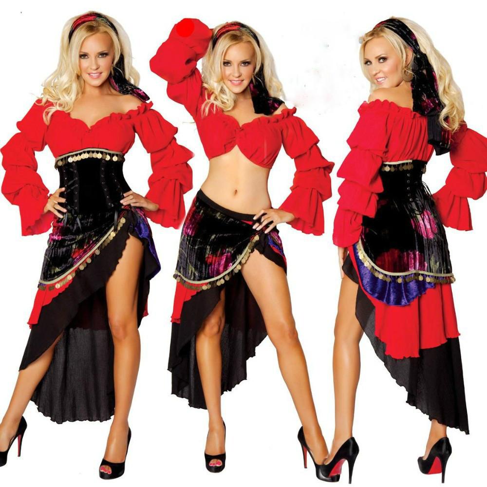 Sexy spanish costume