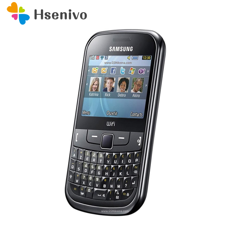 S3350 Original 100 Unlocked Samsung S3350 2 4 Inches GPRS GSM Cheap Refurbished Mobile Phone Free