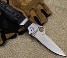 Classic Portable Folding Knife 8Cr13Mov Tactical Pocket Knife G10 Survival Hunting Fruit Knife