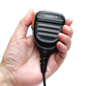 Image 5 - Abbree AR 780 PTT uzaktan su geçirmez hoparlör Mic mikrofon radyo Kenwood TYT Baofeng UV 5R 888S UV 82 Walkie Talkie AR F8