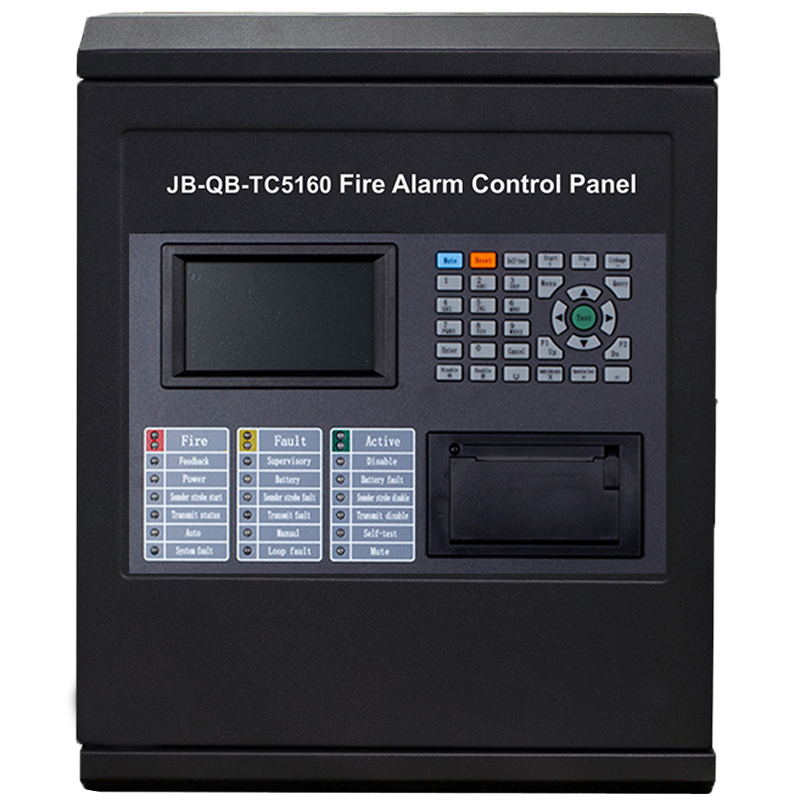 TC Addressable  Fire Alarm Control Panel   Intelligent FACP Only A Loop For 64 /128/192/255 Addressable Points