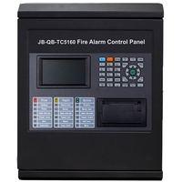 TC Addressable fire alarm control panel intelligent FACP only a loop for 64 or128 Addressable