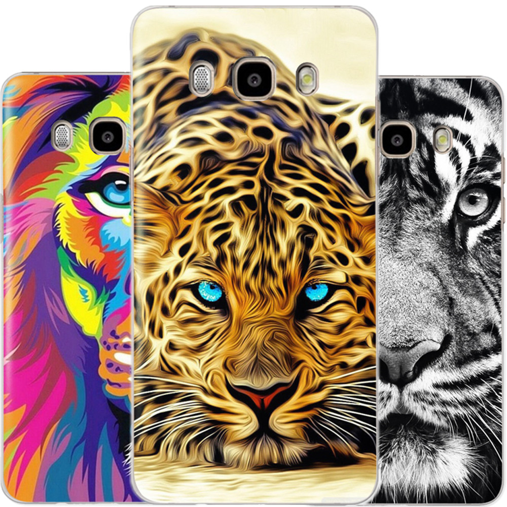 Mighty Animals Lion Phone Back Case Cover For Samsung