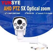 AHD Full HD 1.3mp 2mp 5mp Camera 4in1 Autofocus Varifocal 2.7-13.5mm 5X Digital Zoom Pan/Tilt Bullet PTZ IP66 In/outdoor