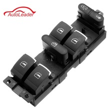 Chrome Master Window Controller Switch For VW Jetta Golf GTI MK4 Passat B5 Driver Side 3BD959857 3BD 959 857 1998-2005