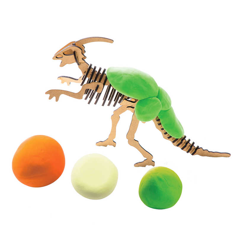 Robotime Creative DIY Polymer Paractenosaur Clay Slime Fluffy Light Soft Plasticine Toy Modelling Clay Playdough Slime Toys FY06