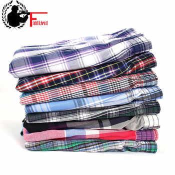 Mens Underwear Boxers Wholesale Plaid Cotton Pack Breathable 2020 Calecon Shorts Plus Size Big Underpant Under Wear Panties Male - DISCOUNT ITEM  20 OFF Underwear & Sleepwears