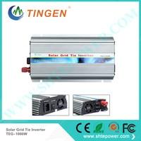 mppt solar inverter 1000w dc 12v 24v to ac 220v 230v 1kw inversor solar grid tie