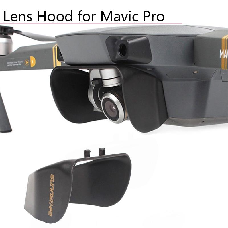Camera Lens Hood Cover Sunshade For DJI Mavic Pro Platinum Snow Drone Camera Gimbal Protector Lens Cover Accessories