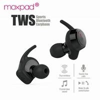 Moxpad M3 TWS Draadloze Koptelefoon Bluetooth 4.1 Dynamische Dual Drivers In Ear Headset True Mini Stereo Muziek Oordopjes Voor iphone