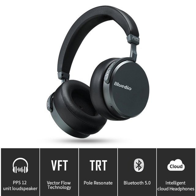 Bluedio V2 Bluetooth наушники PPS12 драйверы высокого класса Беспроводной гарнитура с микрофоном аксессуар для сотового телефона