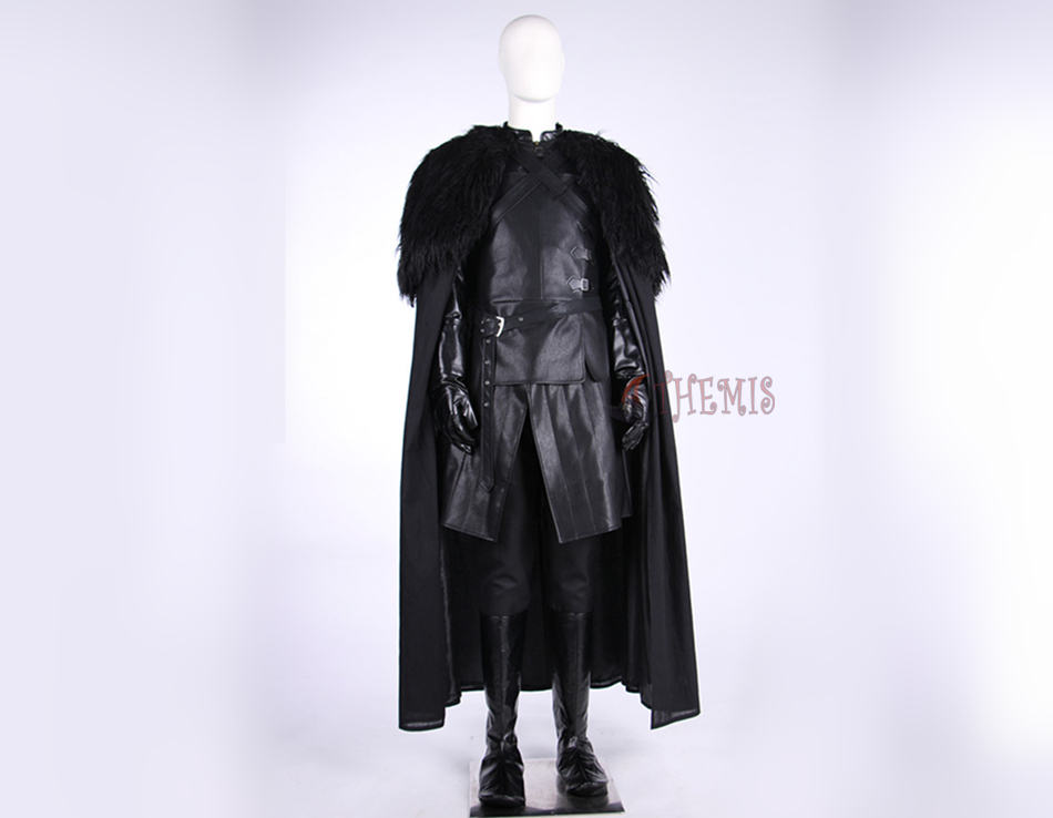 New Game of Thrones Jon Snow Cosplay Costume Top Grade Custom Made