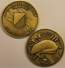 8th Special Forces Group Airborne Army Challenge Coin Br_C, Sample order! 50pcs/lot, DHL free shipping