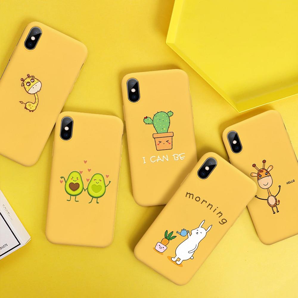 funda iphone x silicona amarilla