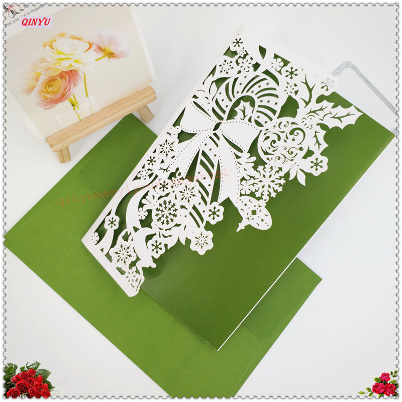 30pcs wedding party guest invitation card for wedding