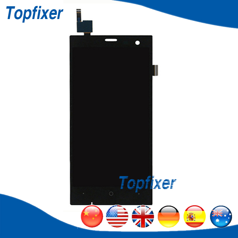 LCD Complete For Highscreen Zera S Rev.S LCD Display Screen And Touch Screen Panel Digitizer Replacement Parts 1PC/Lot