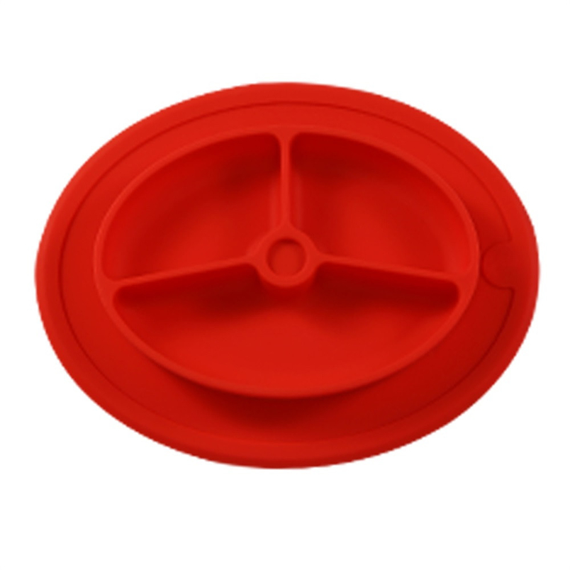 Tenske Silicone Kids Placemat 1pc hot sale Plate Dish Food Tray Table Mat for Baby Toddler*30 GIFT 2017 Drop shipping