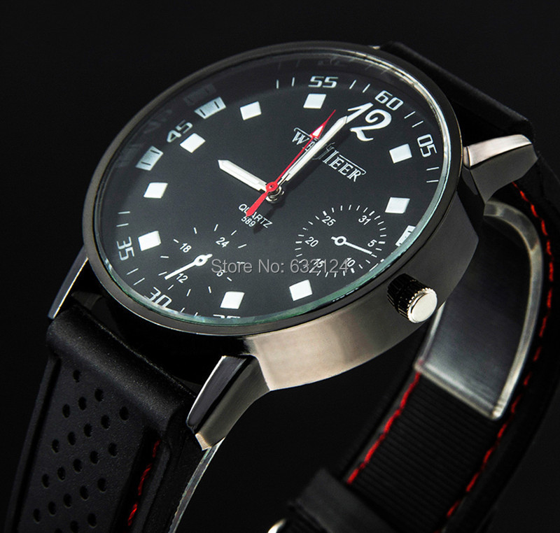 Men Sports Watch Military Quartz Fashion Casual Watches New Popular Army Style Silicone  ...