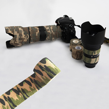 Multi functional Camo Tape Non woven Self adhesive For SLR camera