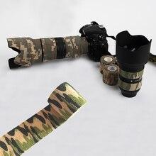 Çok fonksiyonlu Camo bant olmayan dokuma kendinden yapışkanlı SLR kamera için