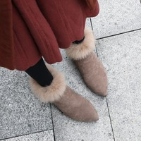 Big Size 9 10 11 17 boots women shoes ankle boots for women ladies boots Lacing of bare hoops