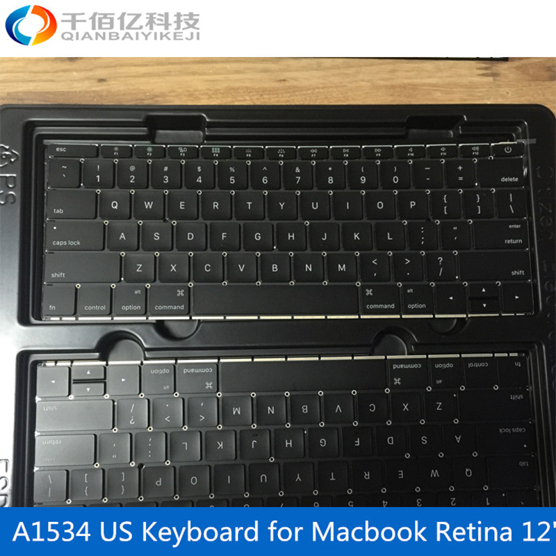Laptop original A1534 Keyboard for font b Macbook b font Retina 12 US keyboard 2016
