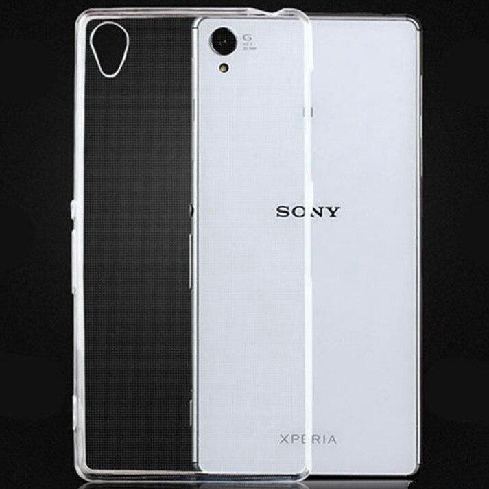 For Sony <font><b>Xperia</b></font> XA1 Ultra XZP XZS XZ XC X XA XP C6 C5 Z1 Z2 <font><b>Z3</b></font> Z4 Z5 C3 C4 C5 M2 M4 M5 E3 E4 Premi um mini E5 Crystal Case <font><b>Cover</b></font>