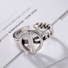 L&P 2018 Fashion 925 Sterling Silver Ring For Women Original Design Compilation GeometrySterling Ring Fine Jewelry Wholesale