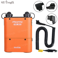 Godox PB960 Orange Flash LED Speedlite Flash Power Battery Charger For Nikon Canon Sony Godox Yongnuo