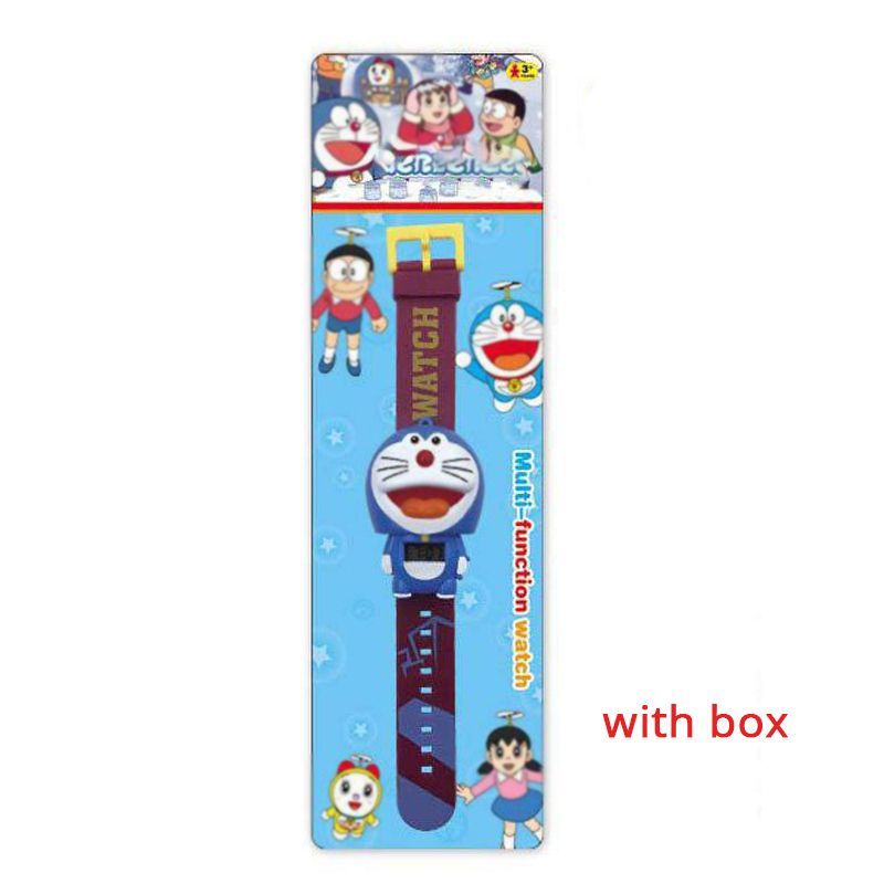 Electronic Cartoon Children's Watch Telescopic Deformation Iron Spiderman Child Watches For Student Boys Girl Kids Wristwatch
