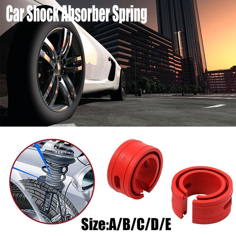 2Pcs Type D Car Auto Shock Absorber Spring Bumper Power Cushion Buffer 120mm US