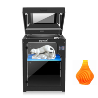 360x400x500mm 3D Printer Dual Extruder + Dual nozzle Two Color Printing 3d Printer With 1KG ABS or PLA Filament As Gifts