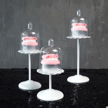 Wedding cup cake stand white metal stand up cake plate cake decorating tools bakeware kitchen dining & bar