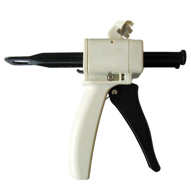 Moldagem De Borracha de Silicone Misturando Dispenser de Dispensação Gun 1:1 e 1:2 Calafetagem 50 ml Equipamentos Odontológicos