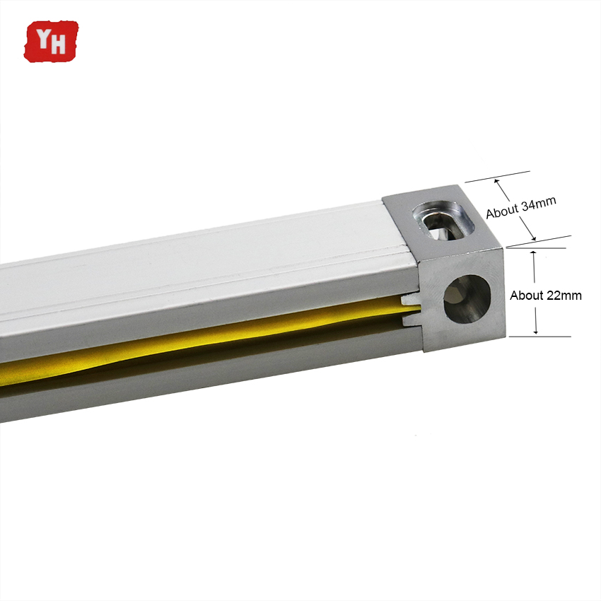 Image 5 - 3 Axis Dro Set Digital Readout System Display VM600 3 and 3 PCS 5U Linear Optical Ruler Dimension 50 1000 for Lathe Mill Machine-in Level Measuring Instruments from Tools