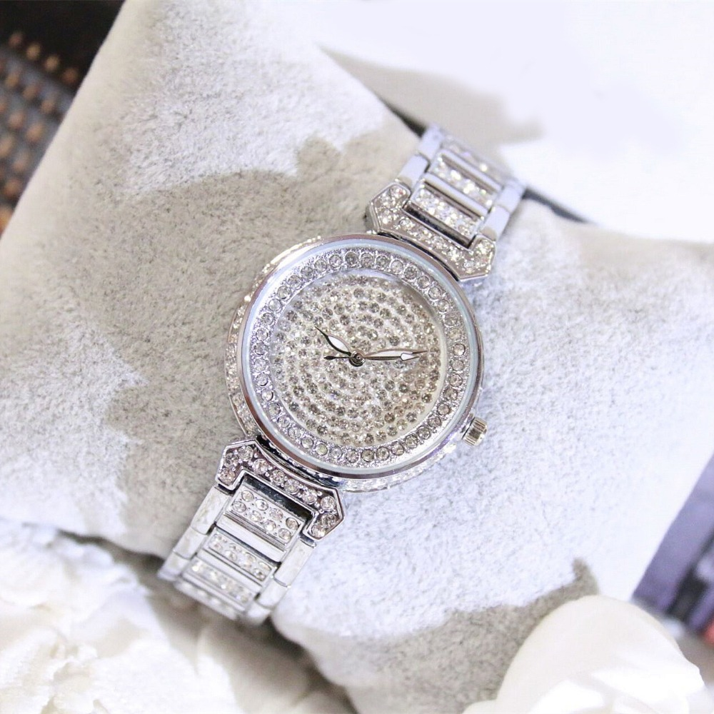 2017 New Arrivals Famous Brand Full Diamond Luxury Women Watch Lady Dress Watch Rhinestone Bling Crystal Bangle Watches Female famous brand full diamond luxury women watch lady dress watch rhinestone bling crystal bangle watches female reloj mujer