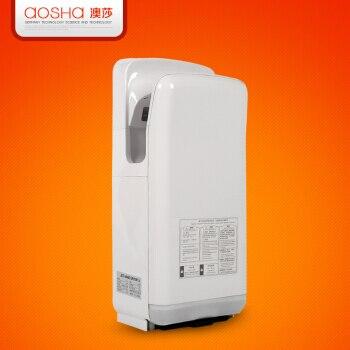200H6 baño blanco mano seca completamente automática inducción secador de manos automático