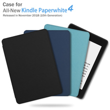 BOZHUORUI Magnetic Cover for Amazon Kindle Paperwhite 4 10th Generation E-book with Auto Sleep/Wake 2018 Case